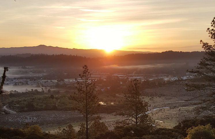 Palm Sunday Sunrise at Mount Hermon