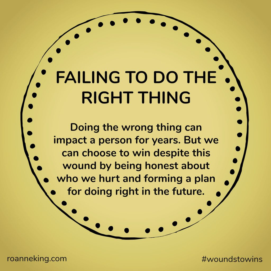 Failing to do the right thing