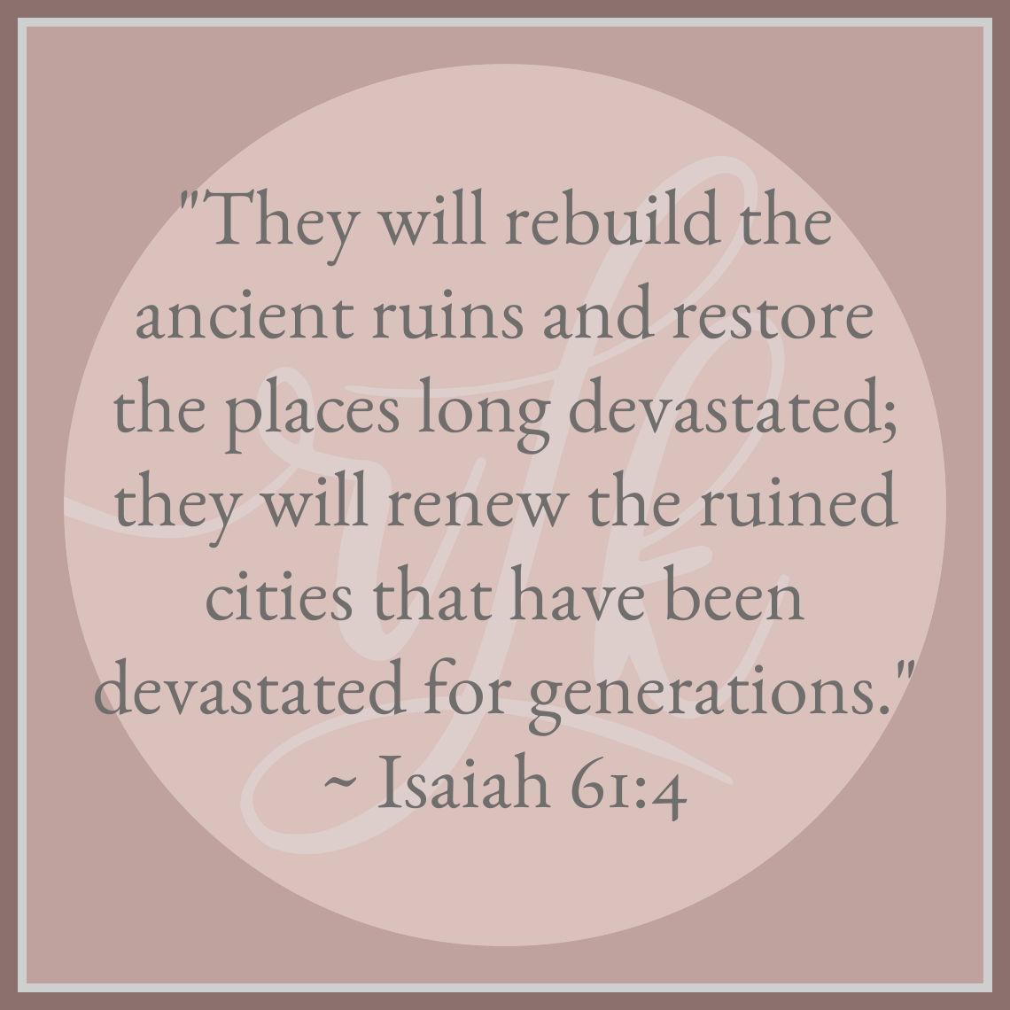 Isaiah 61:4